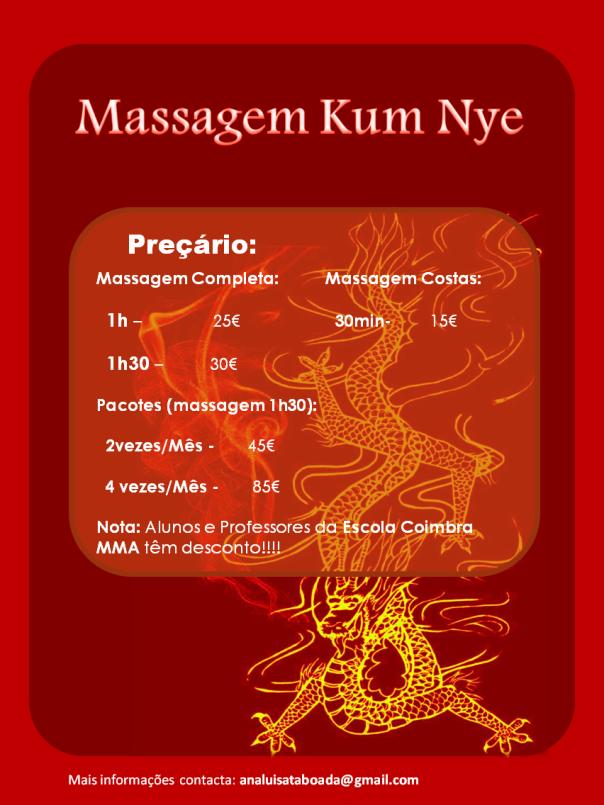 Kum Nye panfleto novos preços